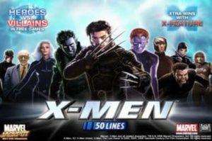 X-Men 50 Lines Videoslot ohne Anmeldung