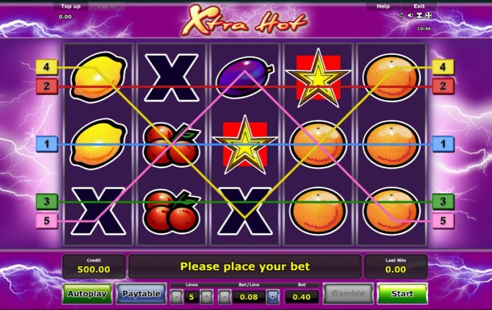 Xtra Hot Geldspielautomat