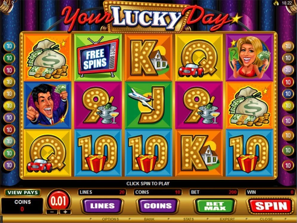 Your Lucky Day online Video Slot