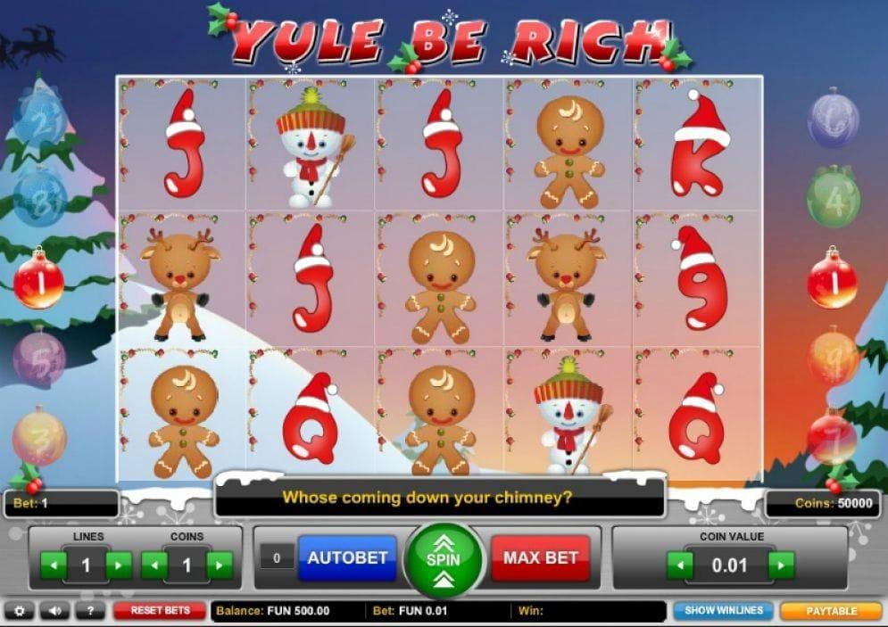 Yule be Rich online Geldspielautomat
