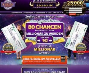 Zodiac Casino im Test