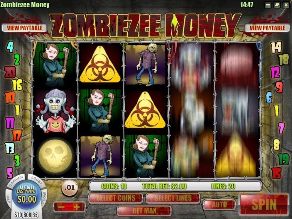 Zombiezee Money Automatenspiel
